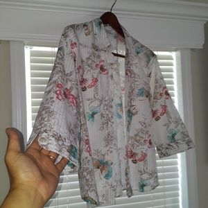 ALFRED DUNNER Butterfly Top